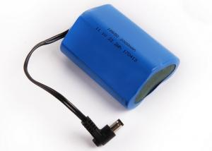 China 3S1P 18650 11.1V 2200Mah Lithium Li Ion Battery Pack 11.1 Volt Cylinder Battery on sale