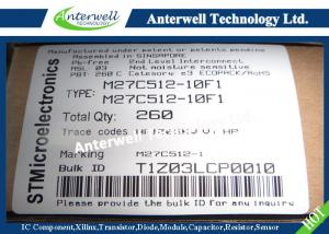 China M27C512-10F1 Integrated Circuit Chip 512 Kbit 64Kb x8 UV EPROM and OTP EPROM on sale