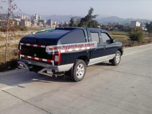 Quality el toldo del camión de la fibra de vidrio para D22 2001-2010, acuesta el tamaño for sale