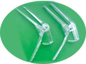 China High Transparency, Non - irritant PS, Medical Sterile 2 Parts type Disposable Vaginal Speculum on sale