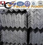MS steel angle of JIS/ASTM/GB/EN standard material grade
