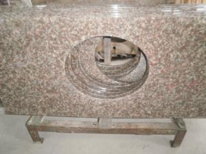 China Artificial stone Solid Surface Kitchen Countertop Granite Vanity Top on sale