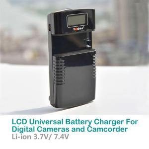 China LCD Universal Battery Charger For Digital Cameras and Camcorders| M20 on sale