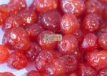 Preserved Red Organic  Freeze Dried Fruit Cherries Rich In Phytonutrients