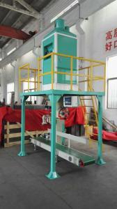 China Coffee Beans / Feritilizer Platform type Semi Automatic Bagging Machine Ruili Bagger on sale