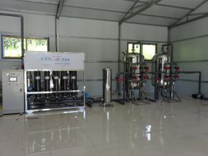 China 220v / 380v RO Mineral Water Plant Fully Automatic Ro Plant 2400x1100x1800mm on sale