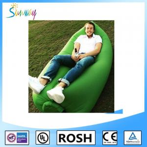 China Fast Inflatable Air Lounge Sofa Inflatable Air Cushion Sofa For Outdoor on sale