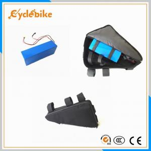 China High Safety Electric Bike Lithium Battery 36v 10Ah 220mm X 140mm X 70mm on sale