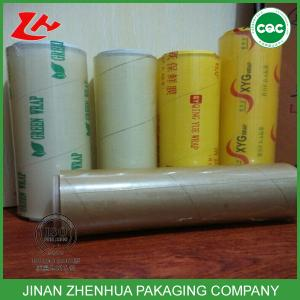 China high quality food grade pvc cling film on sale