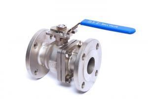 China 2 Inch Flanged Ball Valve 150LB CF8 CF8M Ss Ball Valve Flange Type on sale