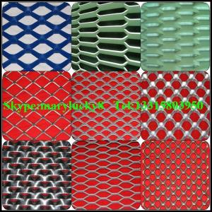 China flattened expanded wire mesh on sale
