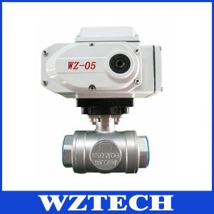 China Welding Connection 2 Way WCB Motorized Actuator Valve, Hard Sealing Electric Valve on sale