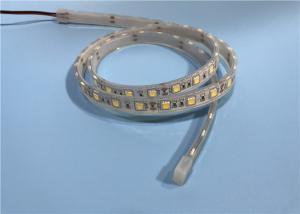 China SMD 5050 60leds 14.4W Warm White LED Strip , LED Wall Strip Lights For Aquarium on sale