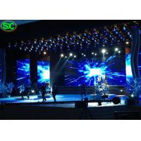 P3.91 Music Show Ultra Thin Led Video Wall Rental Waterproof Hanging Structure