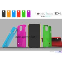 Colorful PC Mobile phone cover case for Samsung S5, Low MOQ with good quality