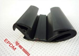 China EPDM Molding Rubber Parts Chemical Resistant For Windows Seal on sale