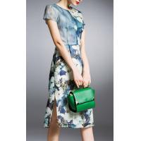 The new fashion dress print dress evening dress for girl women