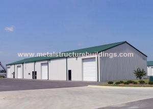 China High Rise Temporary Steel Building Workshop Sound Insulation With Customized Design on sale