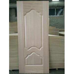 5 - 10% Moisture HDF Door Skin High Durabiloity Wood Veneer Door Skin