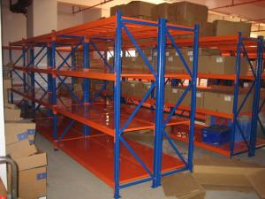 industrial storage steel warehouse shelving racks 4 tier medium rh steelrackingsystems sell everychina com warehouse steel shelving units heavy duty steel warehouse shelving