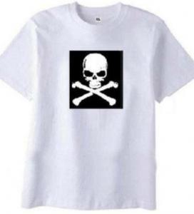 China Musical  El Flashing T-shirts on sale