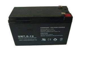 China VRLA AGM battery / Waterproof UPS Rechargeable Sealed Lead Acid Battery 12V 7Ah on sale