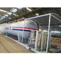 China Customized50m3 LPG Skid Station With Automobile LPG Gas Dispenser ASME Certificate on sale