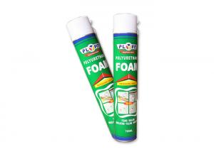 China Gun / Straw Polyurethane Foam Filler Spray , Gap Filling Expanding Foam Spray on sale