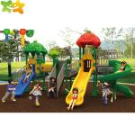 Safe And Durable Plastic Playground Equipment Outdoor Kids Backyard Slide