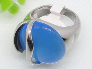 China Rings for Blue Semi Precious Stone 1140468 on sale