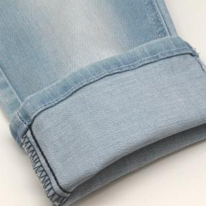 China Archroma Royal Baby blue denim custom Indigo Denim Fabric custom blue Denim Fabric company on sale