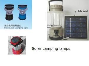 China Lanternas EHT-PVY-002 de acampamento solares acessíveis on sale
