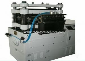 China Stamping Aluminum Radiator Fin Machine 120 SPM Flat Fin Max 500mm Wide on sale