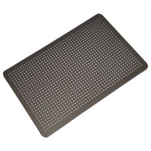 China Perforated Food Service Metal Fabrication Aluminum Oven Liner Tray on sale