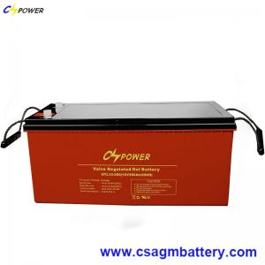 China China Storage Battery 12V200ah Deep Cycle Gel Solar Accumulator on sale