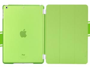 China iPad Air smart cover + back PC case 2 in 1 on sale