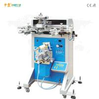 China Cylindrical Conical Oval Bottles Semi Automatic Screen Printing Machine on sale