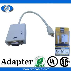 China 2013 hdmi high speed micro hdmi to vga adapter cable cable hdmi on sale