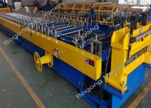 China High Speed Cold Forming Machine , Steel Sheet Roller Shutter Door Machine on sale