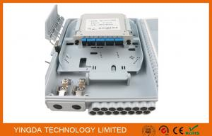 China PC+ABS Material Optical Terminal Box , Fiber Optic Closure With LGX Module SC/UPC Coupler on sale