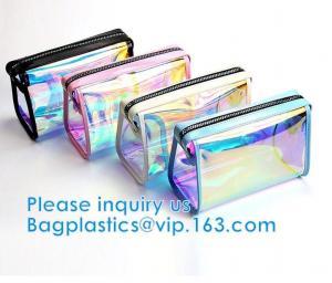 China Makeup Cosmetic Bag Underwear Professional Makeup Bag Slider Closure Zip For Tower Clothing Slider Zipper Bag on sale