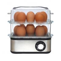 China stainless housing  electric egg boiler with square shape on sale