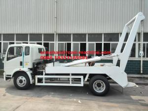China 6 Tires Swing Arm Garbage Collection Truck SINOTRUK HOWO 6-10CBM 4X2 ZZ1127G4215C1 on sale