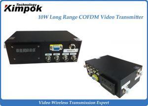 China 150KM Long Range Wireless Video Transmitter  2.4GHz Hdmi AV Sender Receiver on sale