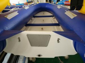 3 Chamber Foldable Inflatable Boat , Frameless Pontoon