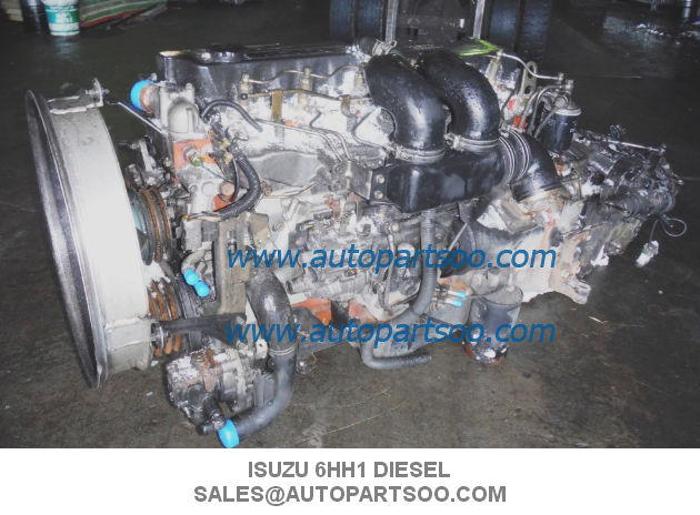 6hh1 Engine Assembly Isuzu Oem Parts Diesel Engine Assy