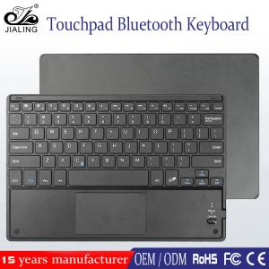 China Slim Style and Bluetooth Interface Type wireless keyboard touchpad for Windows Android ios system on sale
