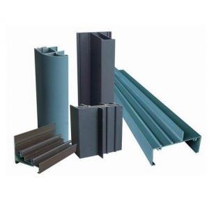 China Modular 6000 Series Aluminum Window Frame Extrusions Aluminium Door Profiles on sale
