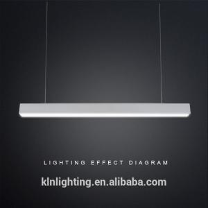 China DALI 0-10V Dimming LED Linear Lighting Aluminum Alloy Lamp Body Available on sale