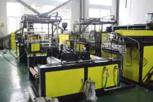 China Polyethylene Stretch Film Wrapping Machine Production Line For 1500mm Width on sale
